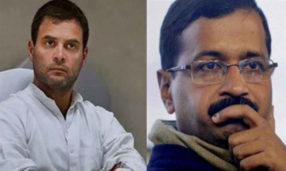 AAP, Congress resume talks to discuss seat sharing formula for Delhi