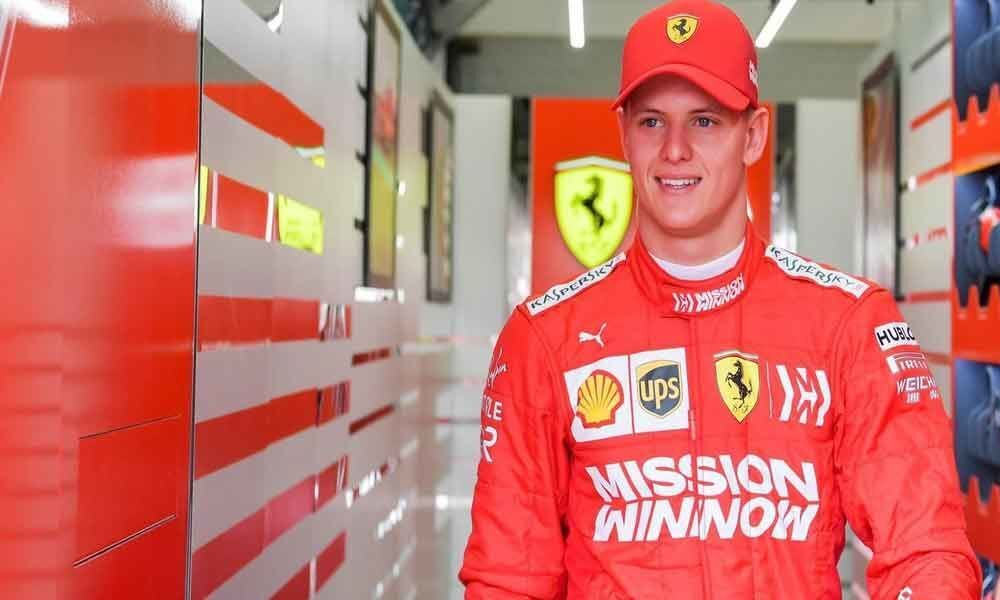 Mick Schumacher hits track again in Bahrain test
