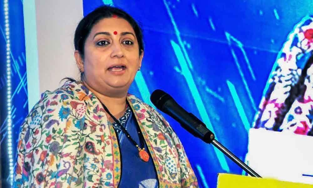 Smriti Irani trying to copy Amitabh Bachchan: Congress