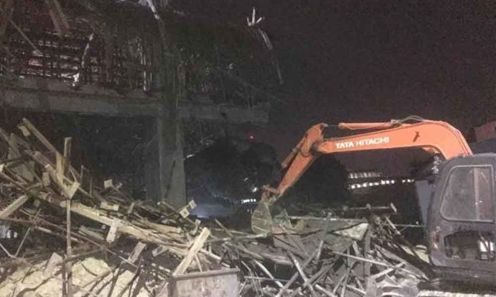 2 dead as under-construction building collapses in Bengaluru
