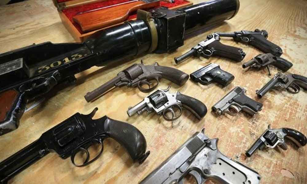 Illegal arms racket busted in Bengal, 7 arrested