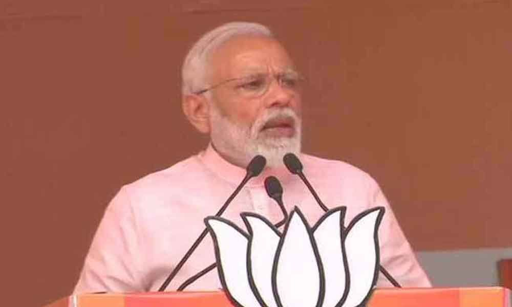 Modi thrashes Congress for questioning Balakot airstrikes