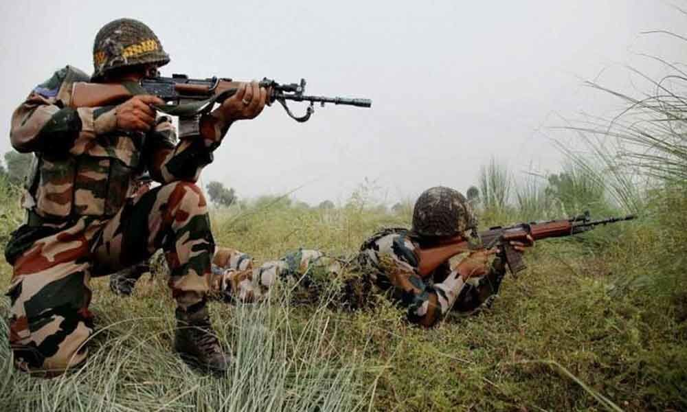 Indian, Pakistani troops traded heavy fire on LoC
