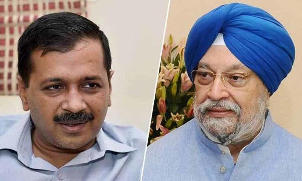 Arvind Kejriwal, Hardeep Singh Puri in a Twitter scuffle