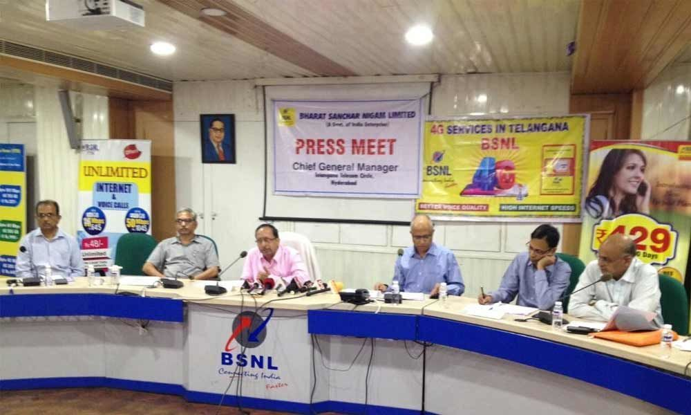 BSNL launches 4G services in TS