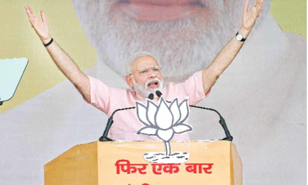 Opposition motive is to dump me: PM Modi