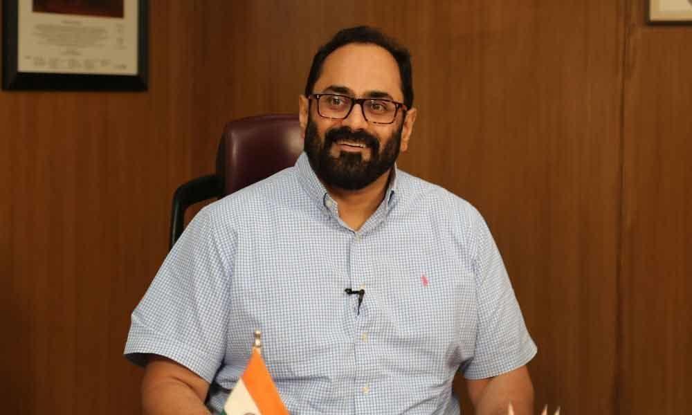 The Kisan Samman, is an income-support scheme: Rajeev Chandrasekhar