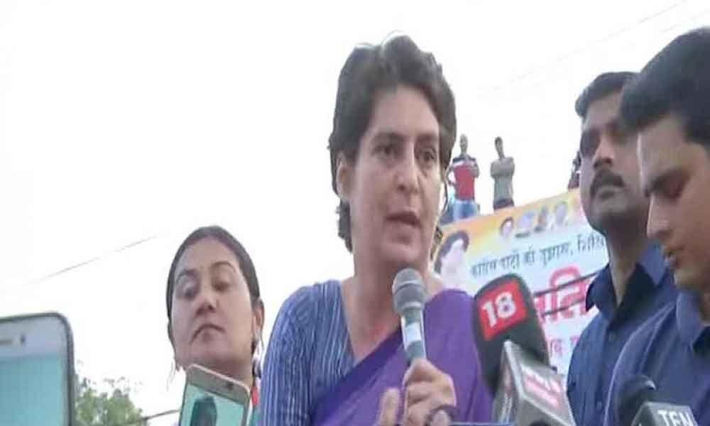 Eats biryani in Pak, hugs in China but ignores Varanasi villagers: Priyanka slams PM