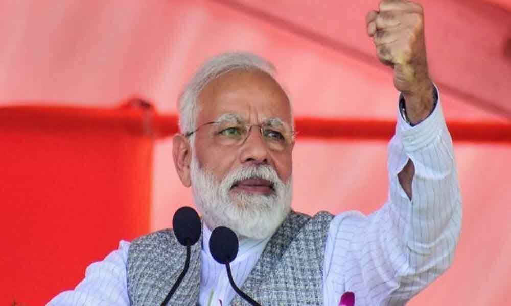 People will reject both BJD, Congress in Lok Sabha, Assembly polls: Modi