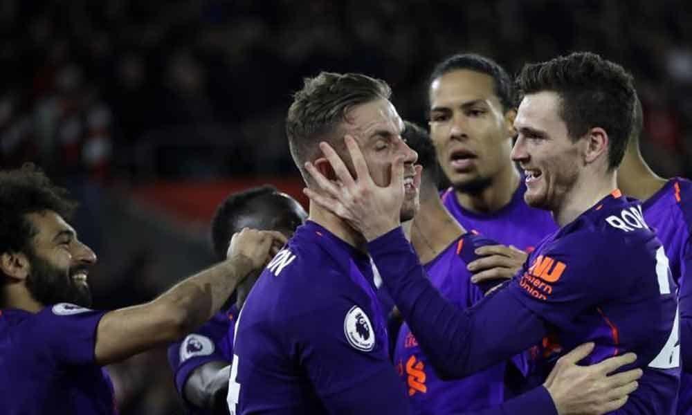 Premier League: Salah ends goal drought as Liverpool go top once again