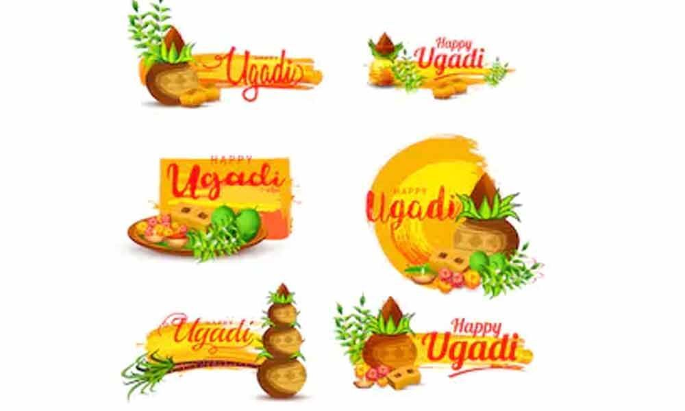 Wish Ugadi on WhatsApp with Ugadi Stickers