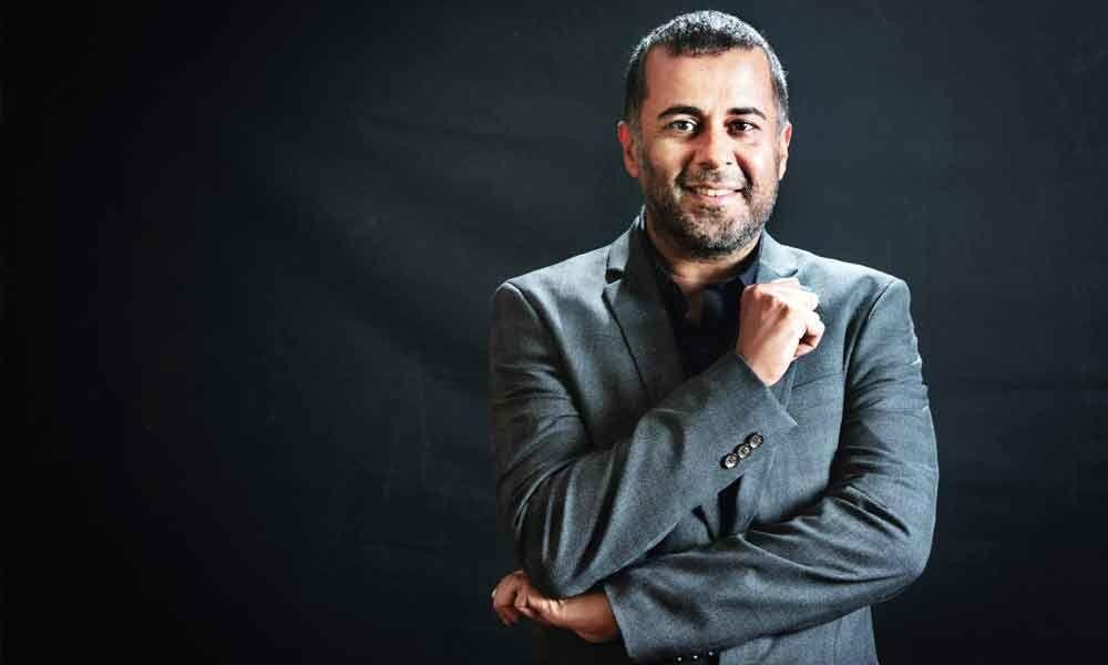 Chetan Bhagat announces new non-fiction