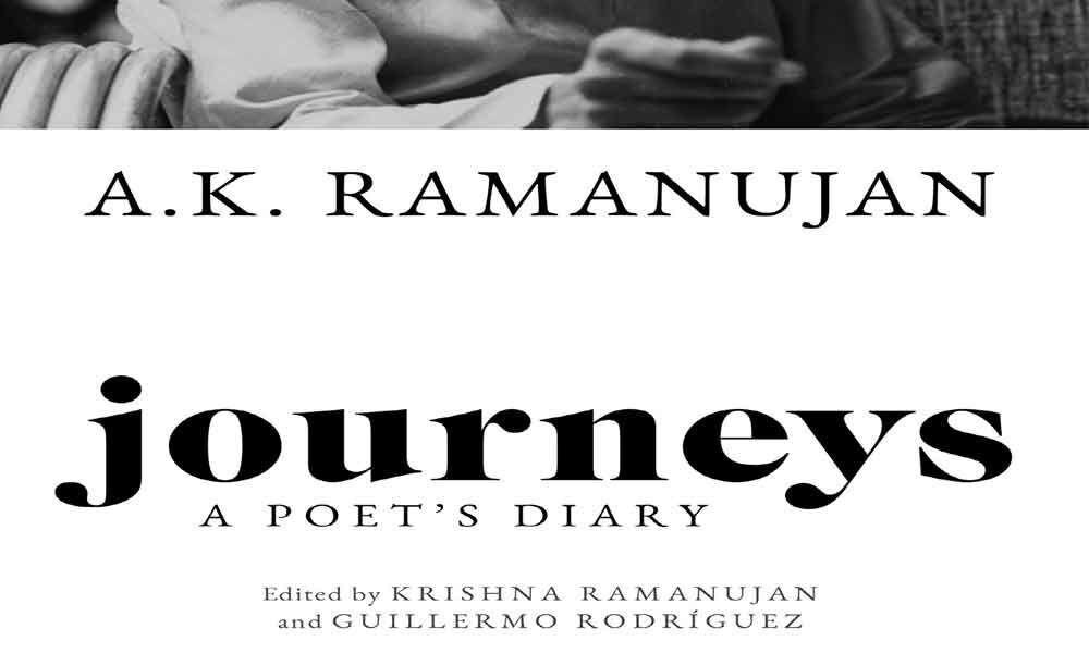 Poet AK Ramanujans personal diaries published