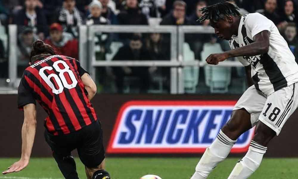 Serie A: Keans double strike helps Juventus inch past AC Milan 2-1