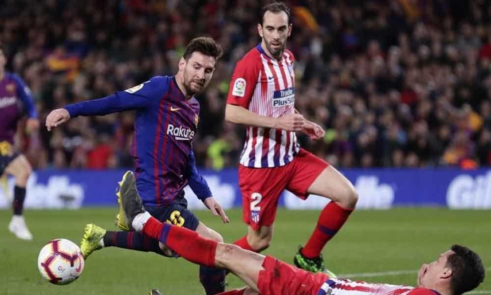 La Liga: Messi, Suarez inflicts 2-0 loss on 10-man Atletico