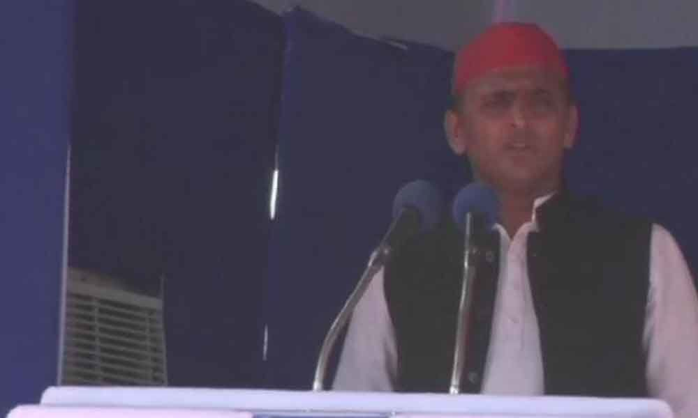 BJP should not lie during holy Navaratri: Akhilesh Yadav