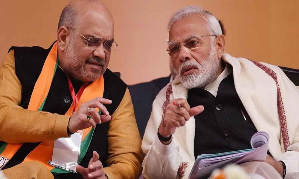 PM Modi, Shah lead BJP