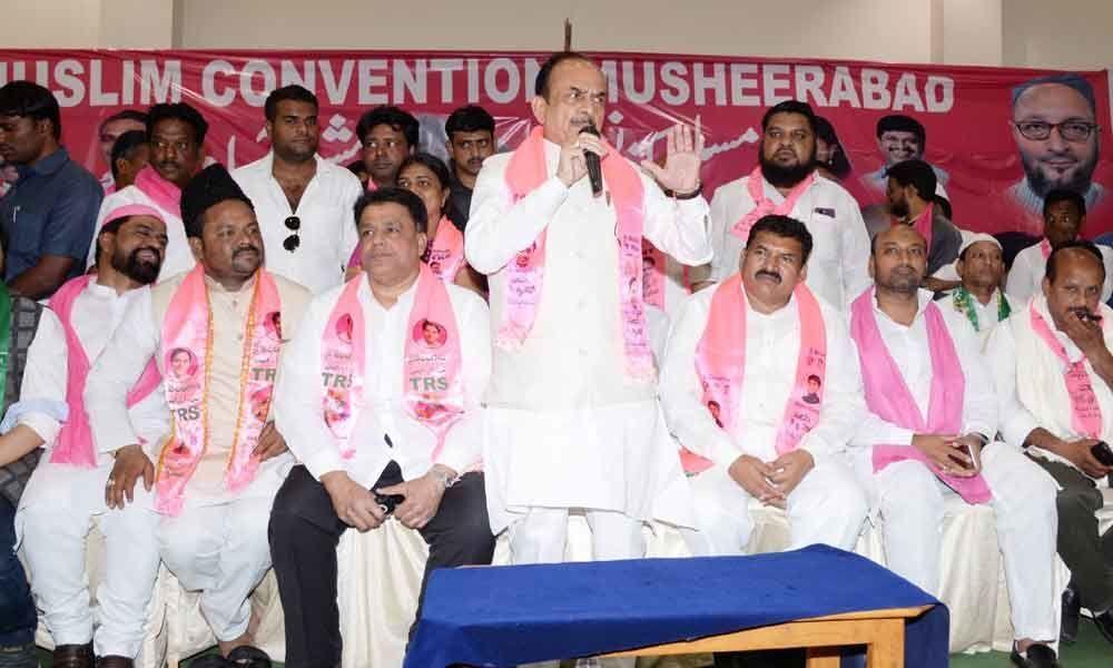 Minority leaders lend support to Sai Kiran