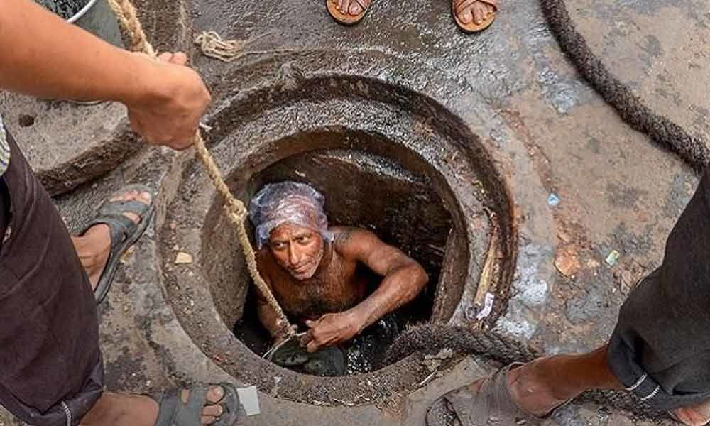 Workers doing India