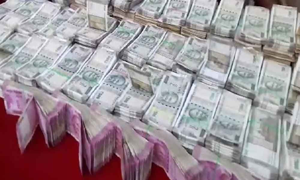 Police seized Rs 22 lakh in Prakasam district