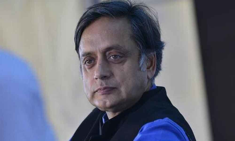 Court reserves order in a defamation case against Tharoor