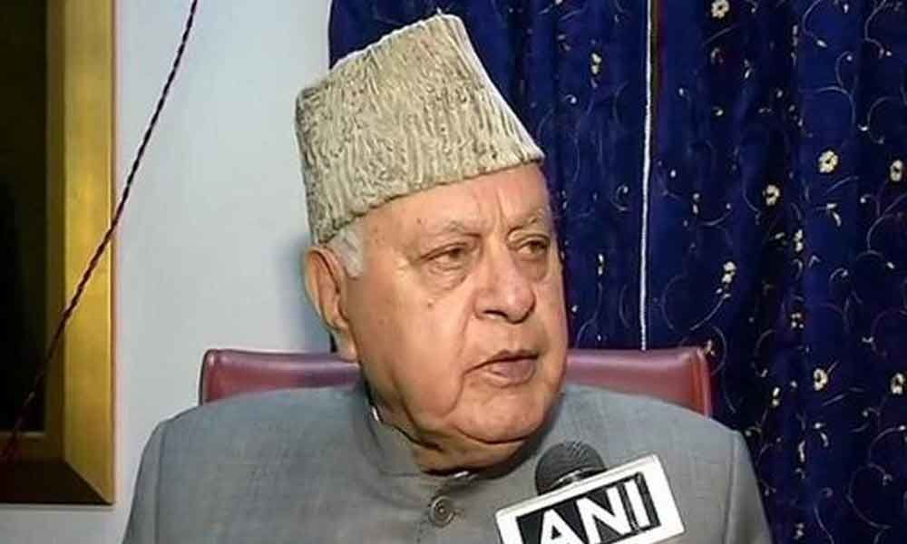 The axing of articles 370, 35A will lead to Azadi: Farooq