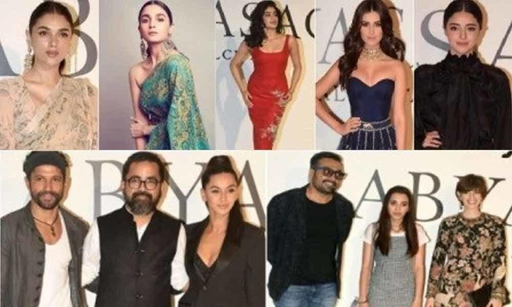 Bollywood Graces 20 Years Celebration Show Of Sabyasachi
