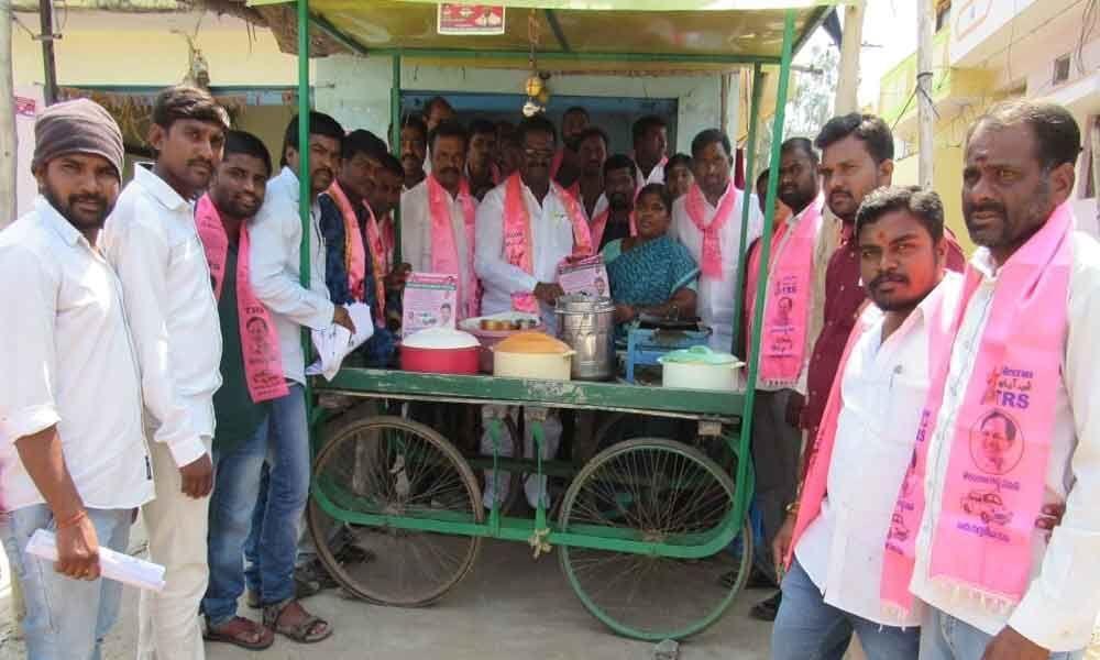Corporators campaign for Marri Rajasekhar Reddy