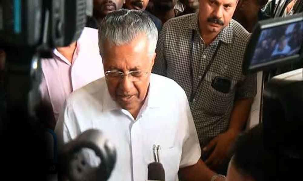 CM Vijayan visits ailing KM Mani at the hospital