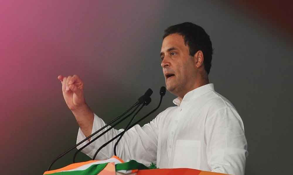 PM scared to debate: Rahul on