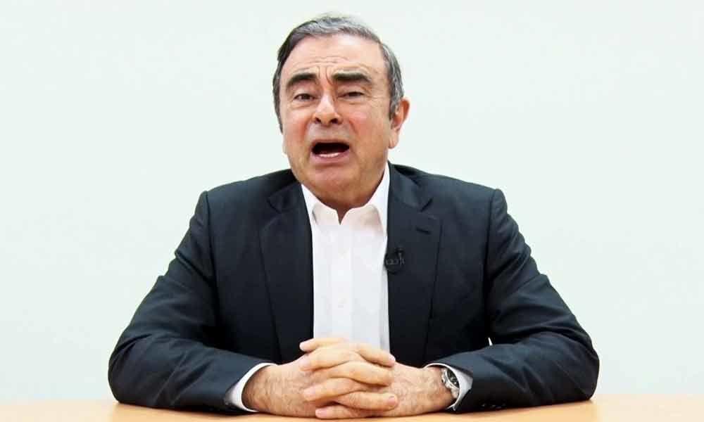 Ghosn accuses Nissan executives of backstabbing plot