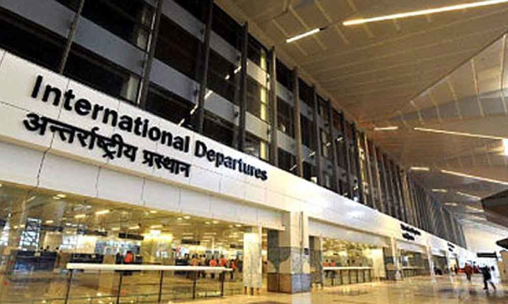 Fire breaks out at the customs office at IGI Airport