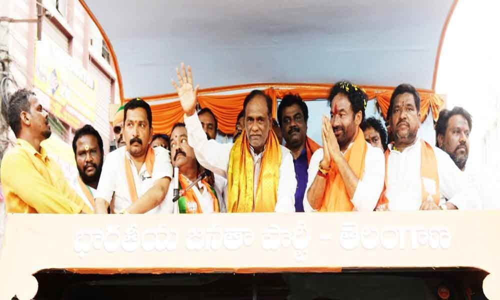 Only BJP can provide good governance, says Lakshman