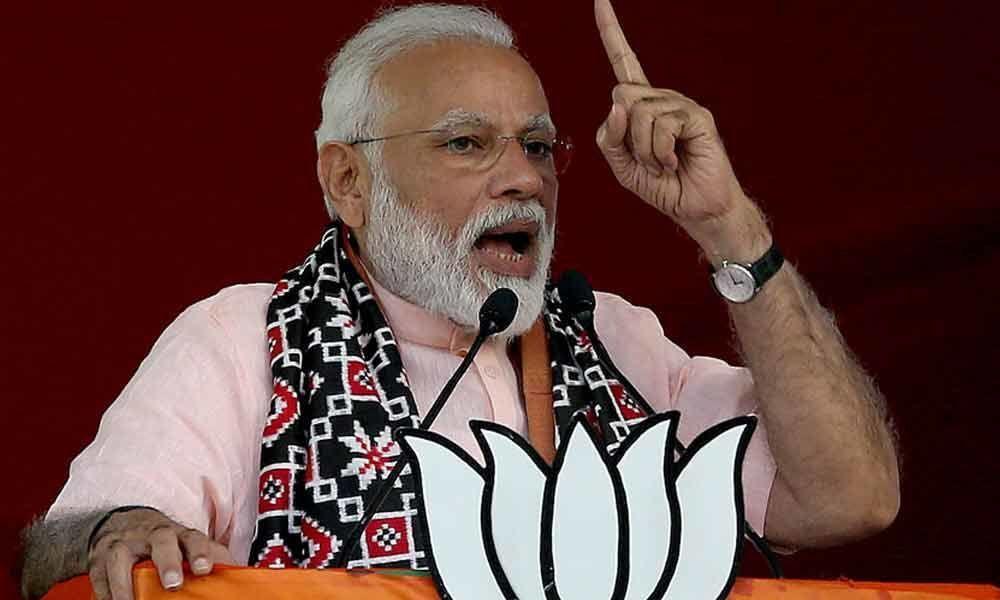 Poll panel seeks report on PM Modis Balakot strike comments:Report