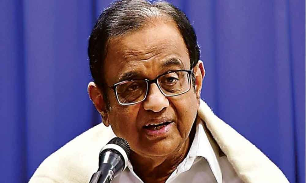 In Modi raj, conviction comes first, an investigation takes place later: Chidambaram