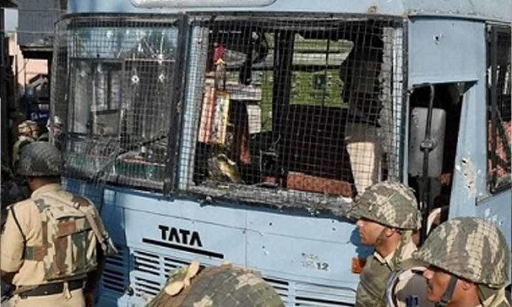 IED blast in Maharasthras Naxal-hit Gadchiroli on poll eve, CRPF personnel injured