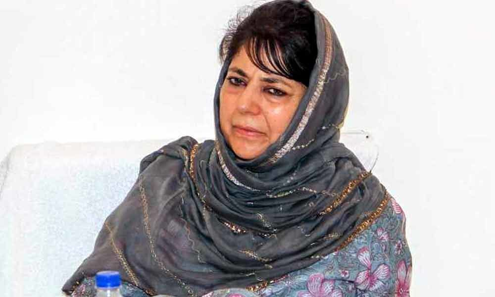 Hope Modi will start dialogue with Pakistan if he gets re-elected: Mehbooba Mufti