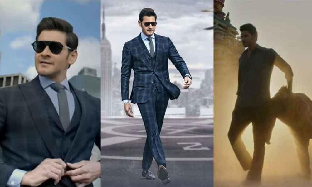 Mahesh in three avatars
