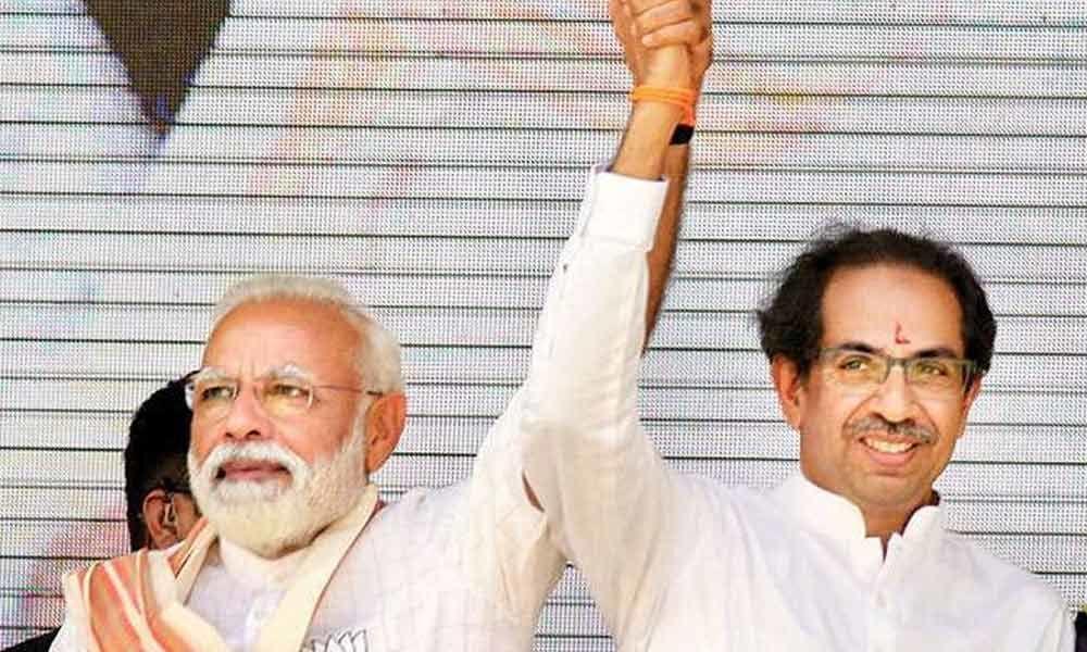 Shiv Sena gives 200 out of 100 to BJPs LS poll manifesto