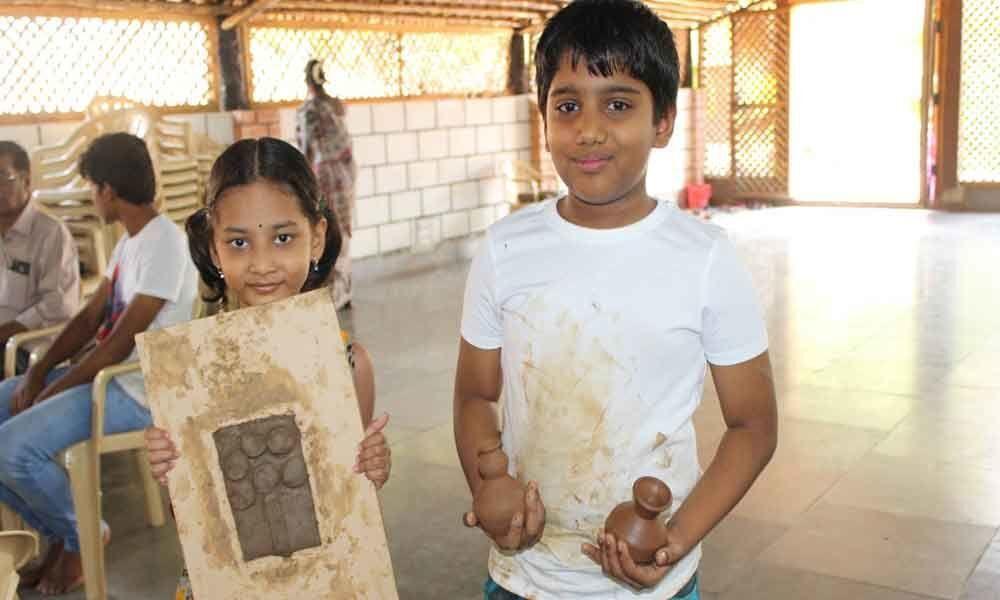 Summer art camp for children