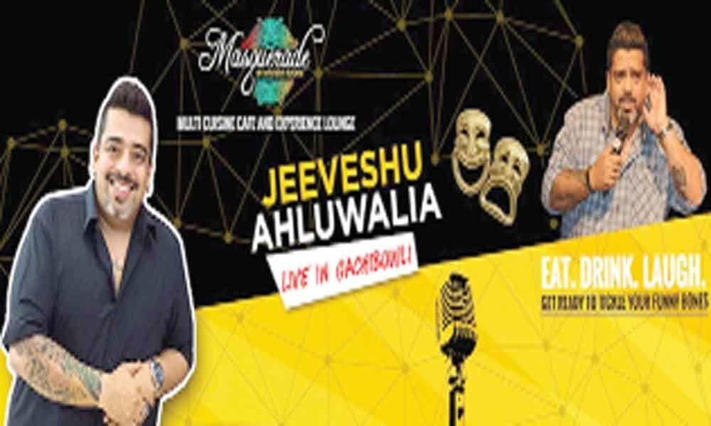 Comedy night with Jeeveshu Ahluwalia