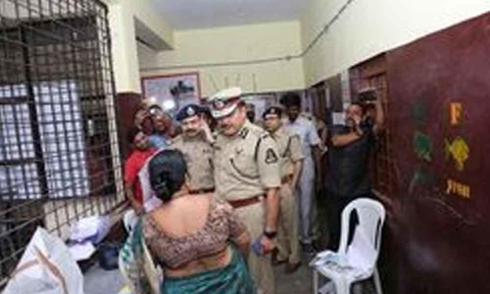 Top cops inspect sensitive polling stations