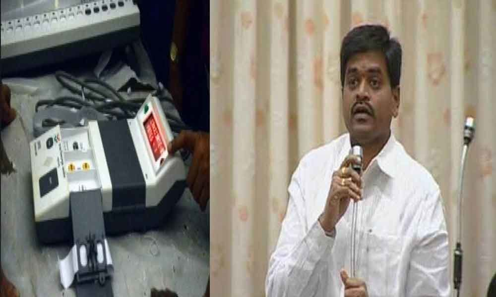 Jana Sena candidate arrested for damaging EVM