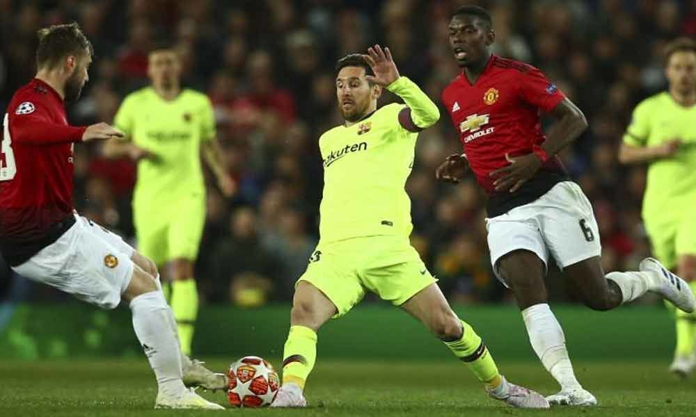 UCL 2018-19: Luke Shaws own goal gives Barca 1-0 advantage over United