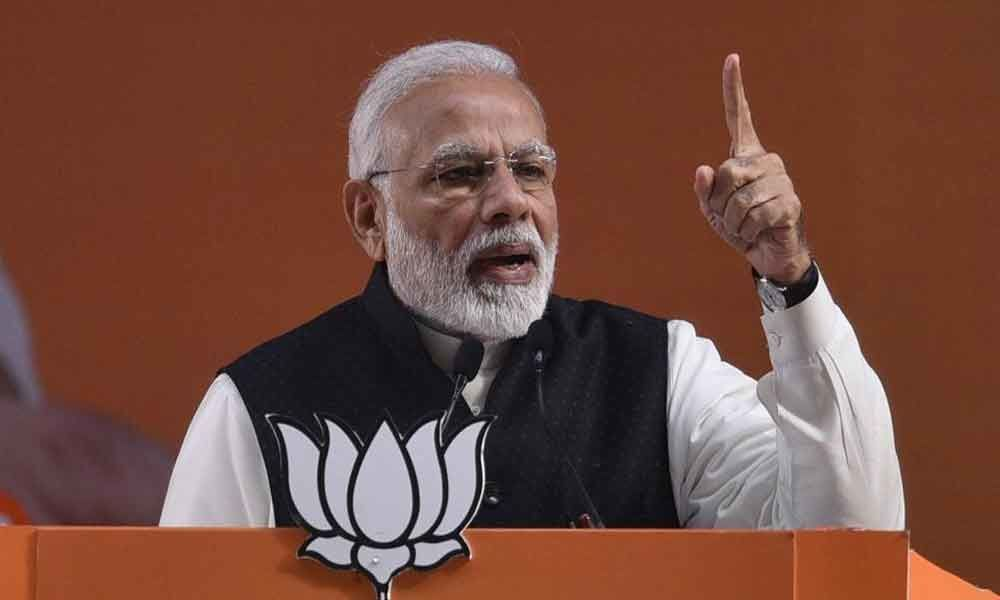 Opposition scared, indulging in scaremongering: PM Modi