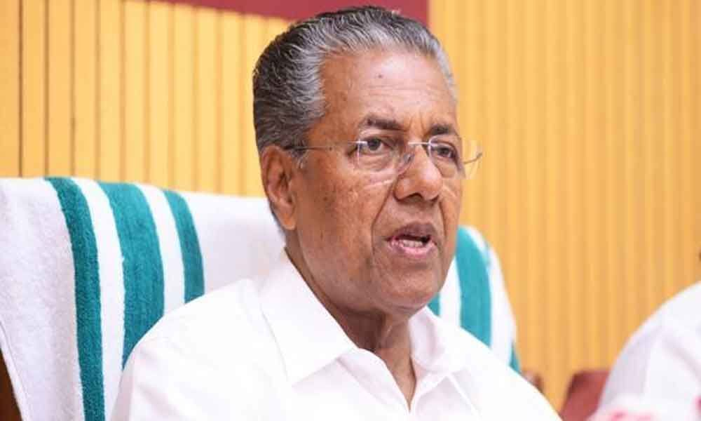 Vijayan slams Shah for calling Wayanad as