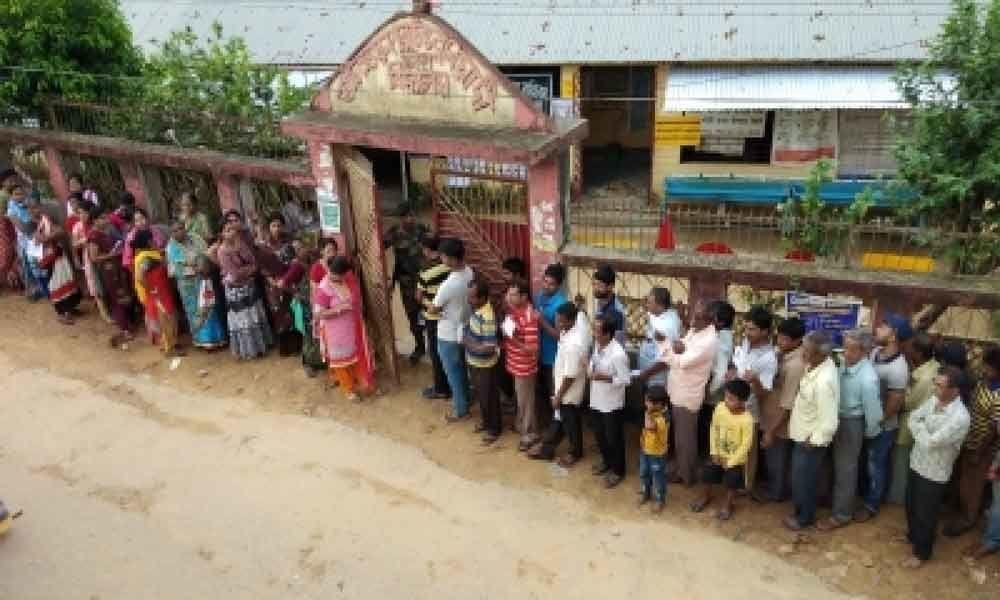 60% voting recorded in Tripura Lok Sabha polls