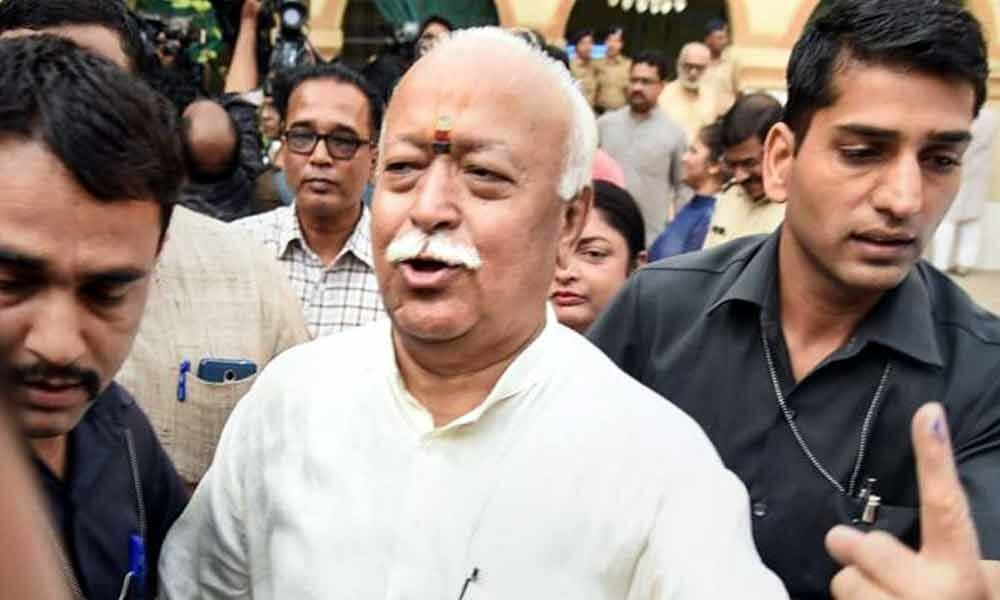 Vote for national security, development and identity: RSS chief Mohan Bhagwat