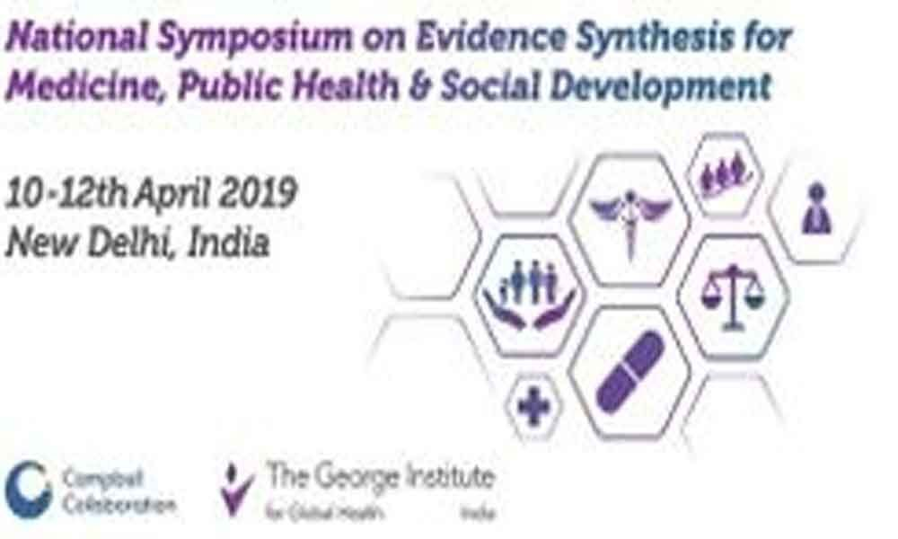 Symposium on evidence synthesis begins in city