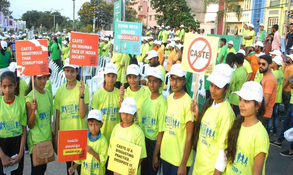 Run for Caste Free India on April 14